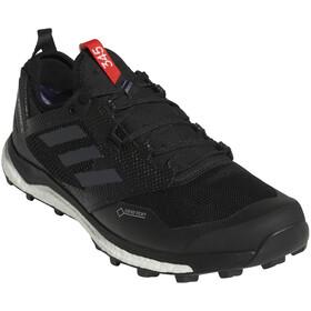 adidas TERREX Agravic XT Gore-Tex Zapatillas Trail Running Hombre, core black/grey five/hi-res red
